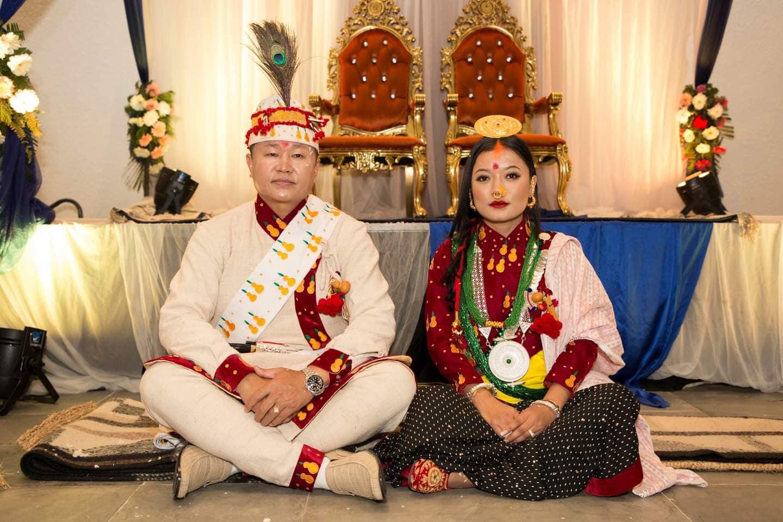 शेरधन राईको ज्याङमुसँग विवाह
